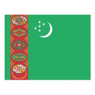 タキマンニスタンの国民の世界の旗 はがき