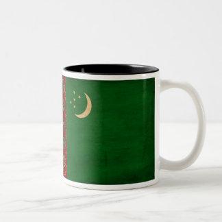 タキマンニスタンの旗のマグ ツートーンマグカップ