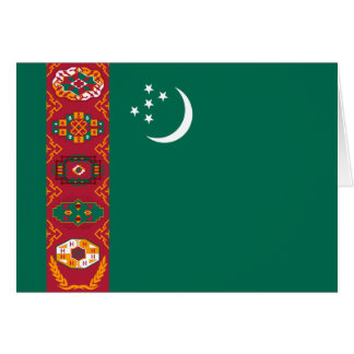 タキマンニスタンの旗 カード