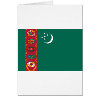 タキマンニスタンの旗 グリーティングカード