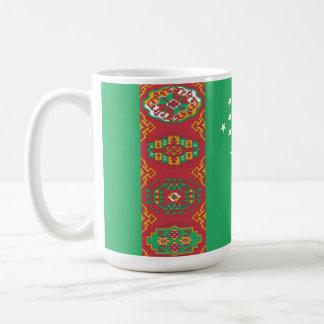 タキマンニスタンの旗 コーヒーマグカップ