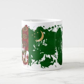 タキマンニスタンの旗 ジャンボコーヒーマグカップ