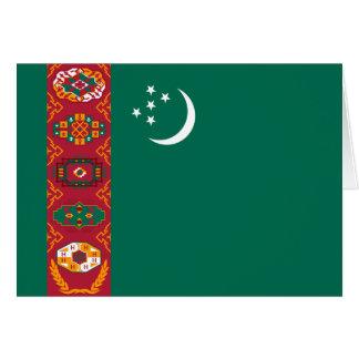 タキマンニスタンの旗 ノートカード