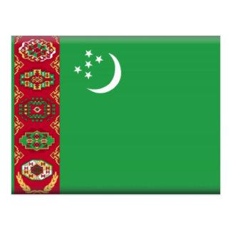 タキマンニスタンの旗 ポストカード