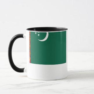 タキマンニスタンの旗 マグカップ