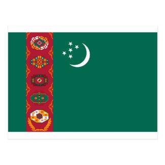 タキマンニスタンの旗 葉書き