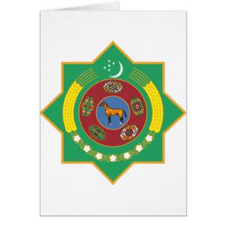 タキマンニスタンの紋章付き外衣 カード