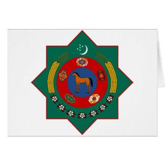 タキマンニスタンの紋章付き外衣 グリーティングカード