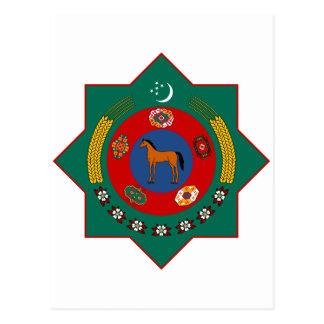 タキマンニスタンの紋章付き外衣 ポストカード