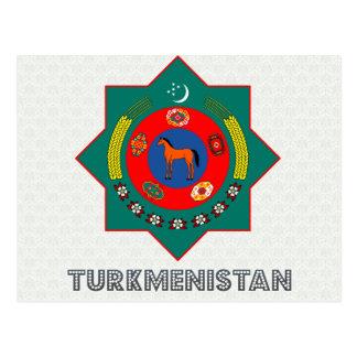 タキマンニスタンの紋章付き外衣 葉書き