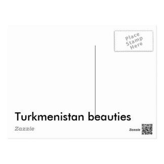タキマンニスタンの美しい 葉書き