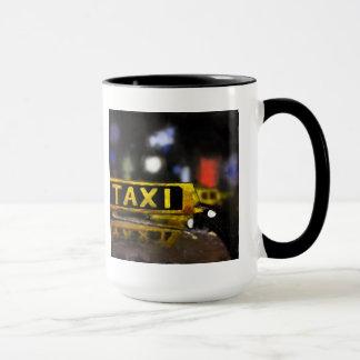 タクシーのマグ マグカップ