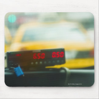 タクシーのメーター マウスパッド
