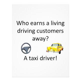 タクシーの冗談 レターヘッド