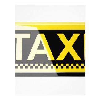 タクシーの印 レターヘッド
