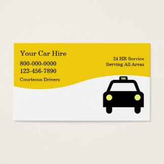 タクシーの名刺 名刺