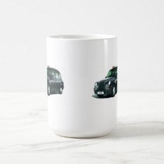 タクシーのHackneyキャリッジマグ コーヒーマグカップ