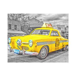 タクシー キャンバスプリント