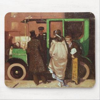タクシー、c.1908-10 マウスパッド