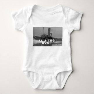 タグボートとして赤ん坊のJerseryのボディスーツの暖かい堅い ベビーボディスーツ