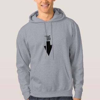 タグボートの位置の矢のフード付きスウェットシャツ パーカ