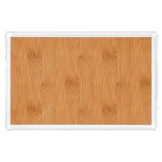 タケトーストの木製の穀物の一見 アクリルトレー