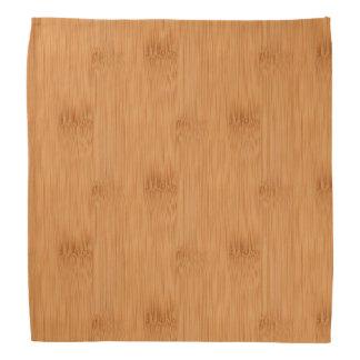タケトーストの木製の穀物の一見 バンダナ
