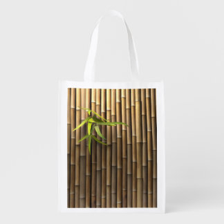タケ壁の再使用可能な買い物袋 エコバッグ