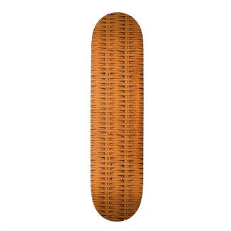 タケ斜子織 スケートボード