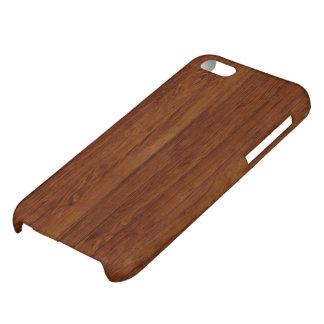 タケ木製の質パターン iPhone5Cケース