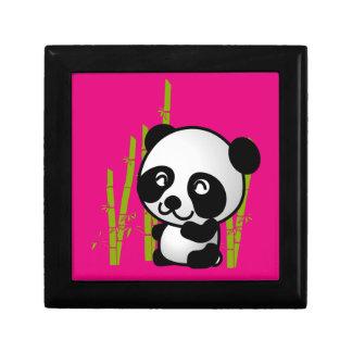 タケ果樹園のかわいい白黒パンダくま ギフトボックス