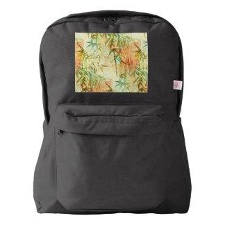 タケ森林絵画 AMERICAN APPAREL™バックパック