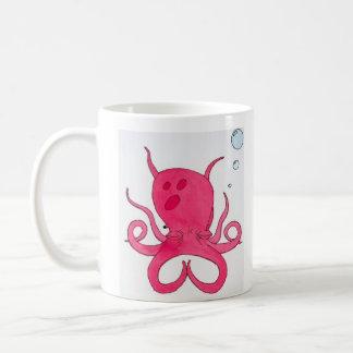 タコのめい想 コーヒーマグカップ