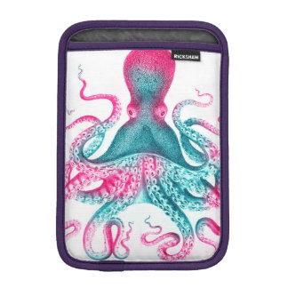 タコのイラストレーション-ヴィンテージ- kraken iPad miniスリーブ