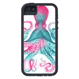タコのイラストレーション-ヴィンテージ- kraken iPhone SE/5/5s ケース