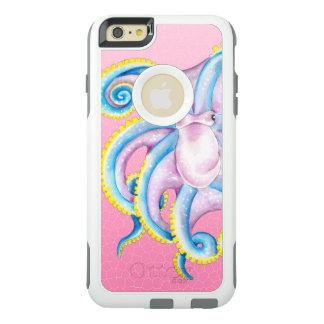 タコのピンクのステンドグラス オッターボックスiPhone 6/6S PLUSケース