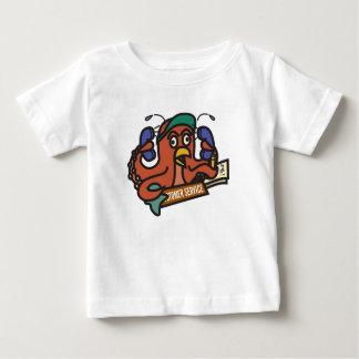 タコの人 ベビーTシャツ