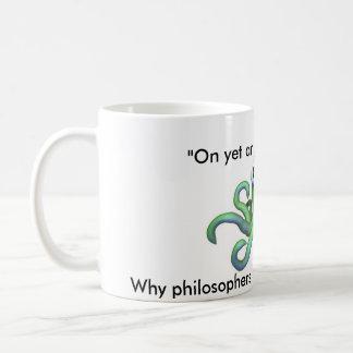 タコの哲学 コーヒーマグカップ