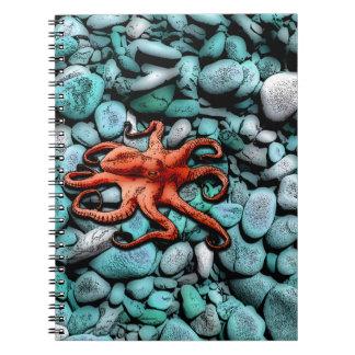 タコの小石のノート ノートブック