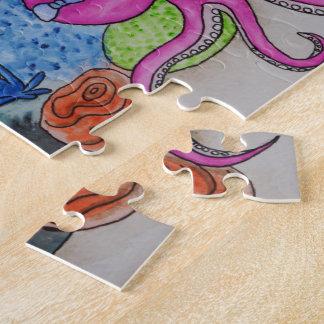 タコの庭(陰で) ジグソーパズル