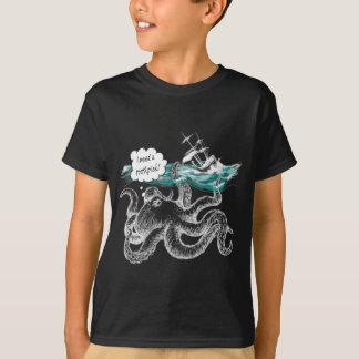 タコの攻撃 Tシャツ