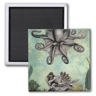タコの浮遊物の磁石 マグネット