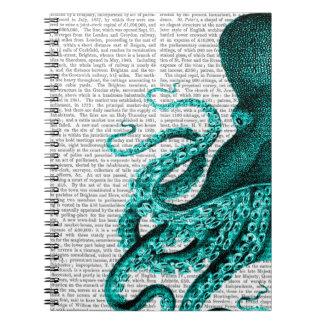 タコの緑の半分 ノートブック