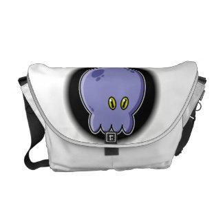 タコの青 メッセンジャーバッグ