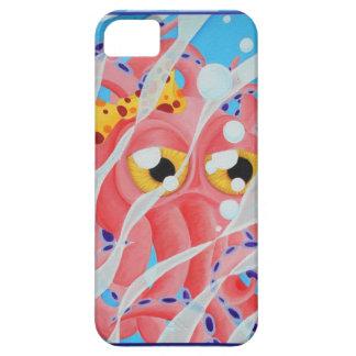 タコのIphoneかわいいピンクの5の場合 iPhone SE/5/5s ケース