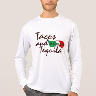 タコスおよびテキーラ Tシャツ