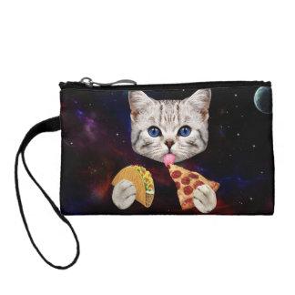 タコスおよびピザを持つ宇宙猫 コインパース
