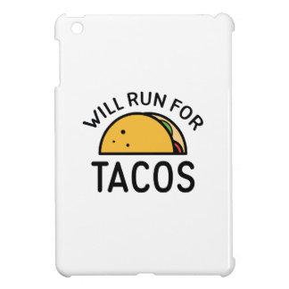 タコスのために走ります iPad MINIカバー