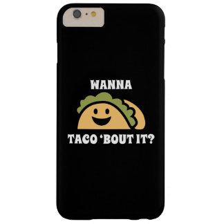 タコスのに「一続きがそれほしいと思って下さい BARELY THERE iPhone 6 PLUS ケース