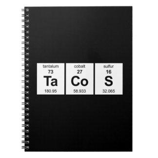 タコスのノート ノートブック